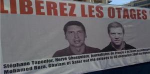 Journalistes otages : 250 JOURS... dans LIBERTES